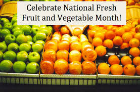 fruit of the month june is national fresh fruit and vegetable month morefood org