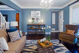 interior design painting a room blue and orange for how much paint