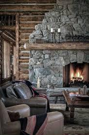 rustic stone fireplaces top 70 best stone fireplace design ideas rustic rock interiors