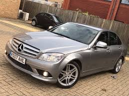 mercedes benz c class c220 2 1 cdi amg sport saloon diesel manual