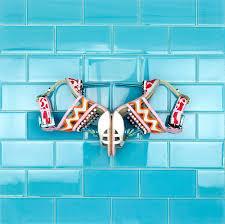 glass tiles loft turquoise 3x6 polished glass tile tilebar com
