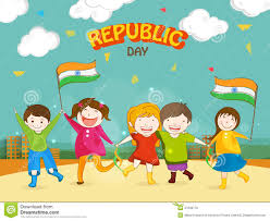 Story Of Indian National Flag Kids With Indian Flag Clipart Clipground