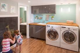 washer dryer cabinet ikea ikea laundry laundry room contemporary with wood floors chair rail