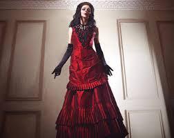 black wedding dress etsy
