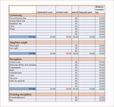 wedding budget wedding budget template 9 free documents in word pdf