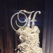 rhinestone cake toppers gorgeous swarovski wedding cake toppers 6 in