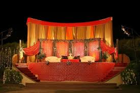 Indian Wedding Decorators In Ny Outdoor Indian Wedding Stage Decorations Wedding Stage