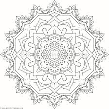flower mandala coloring pages 108 u2013 getcoloringpages org
