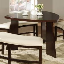 dining tables triangle dining table with lazy susan dining room