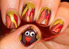 42 best turkey nail art images on pinterest fall nails holiday
