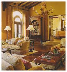 Tuscan Style Curtains Ideas Livingroom Interior Simple And Neat Living Room Decoration Using