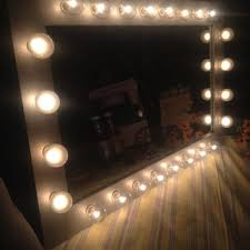 lighted vanity mirror called diva the from woodubemine mirror