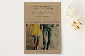 kraft paper wedding invitations vintage kraft wedding invitations by waldo press minted