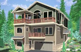 house plans with basement garage basement garage house plans for sloping lots level walkout home with