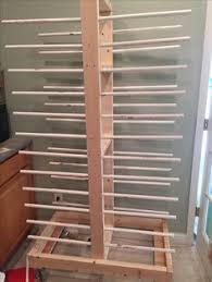 paint drying rack for cabinet doors make your own drying racks for painting cupboard doors talk about