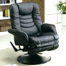 office recliner chair leather black leather office chair recliner