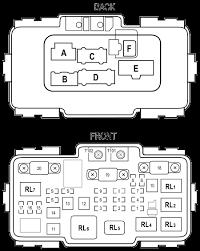 honda element under hood fuse relay box
