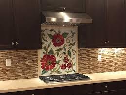 mosaic kitchen backsplash mosaic tile kitchen backsplash flowers home design ideas