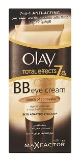 Olay Bb olay total effects bb eye and touch of maxfactor