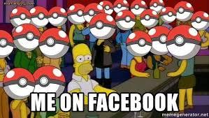 Pokemon Meme Generator - me on facebook homer pokémon meme generator