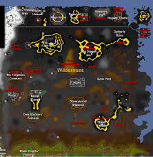 Oldschool Runescape World Map by Rejuvenating The Wilderness More Risk More Reward Old