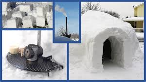 how to build an igloo youtube