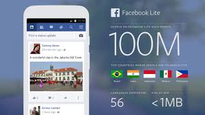 Fb Lite Lite Now S Fastest Growing App Reaches 100m
