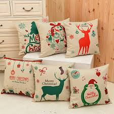 cushion covers for sofa pillows christmas pillow covers set beautiful themes of christmas pillow