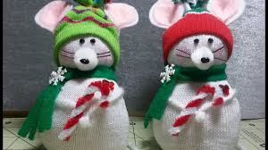 diy adorable christmas mouse made from child u0027s dollar tree sock