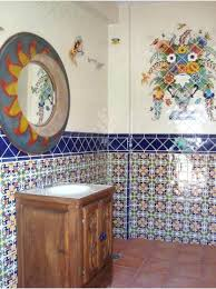 mexican tile bathroom designs mexican tile shower oasiswellness co