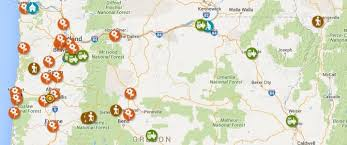map of oregon state map offers opportunities to explore gardens farms and