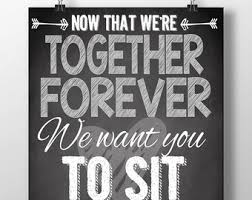 Wedding Seating Signs Funny Photo Prop Signs Engagement Party Photo Props Wedding