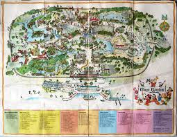 magic kingdom disney map magic kingdom map found in a wall imagineering disney