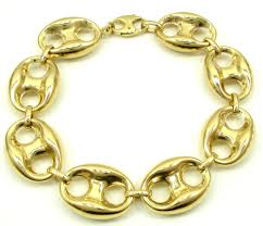 mens gold bracelet links images 10k yellow gold gucci link bracelet 9 50 inch 16 50mm jpg