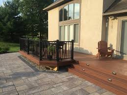 Drysnap Under Deck Rain Carrying System by Patio And Deck Combinations U2013 Columbus Decks Porches And Patios