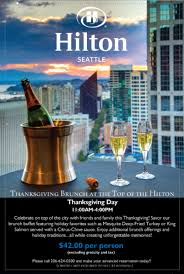 downtown seattle hotels thanksgiving at top of the the