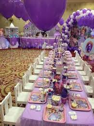 sofia the party ideas princess sofia birthday party ideas table settings birthdays
