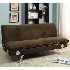 Microfiber Futon Couch Furniture Of America Futons U0026 Futon Accessories Sears