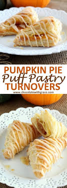an easy thanksgiving dessert made with puff pastry these pumpkin