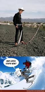 Skiing Meme - skiing shoes by photoshoper meme center