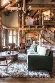 rustic cabin home decor decorations fabulous log home interior decorating idea for