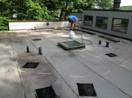 leaking flat roof when to repair or replace lyons contracting