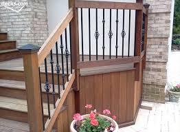 decorative deck spindles deck railing designs decorative deck