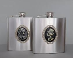 his and hers flasks photoshop gift for him flask hip flask