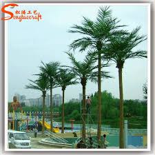 2017artificial outdoor palm trees decorative metal palm tree