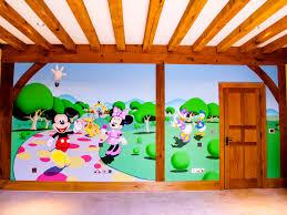mickey mouse clubhouse mural sacredart murals