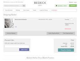 bedeck voucher codes u0026 discounts free delivery my voucher codes
