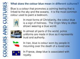 what do different colours mean george quote assured that christianity is something forms of in