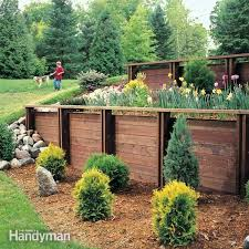 Retaining Garden Walls Ideas How To Build A Treated Wood Retaining Wall Ideas