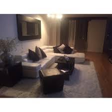 Modern Leather Sectional Sofa El Dorado Furniture White Leather Sectional Sofa Aptdeco Pics With